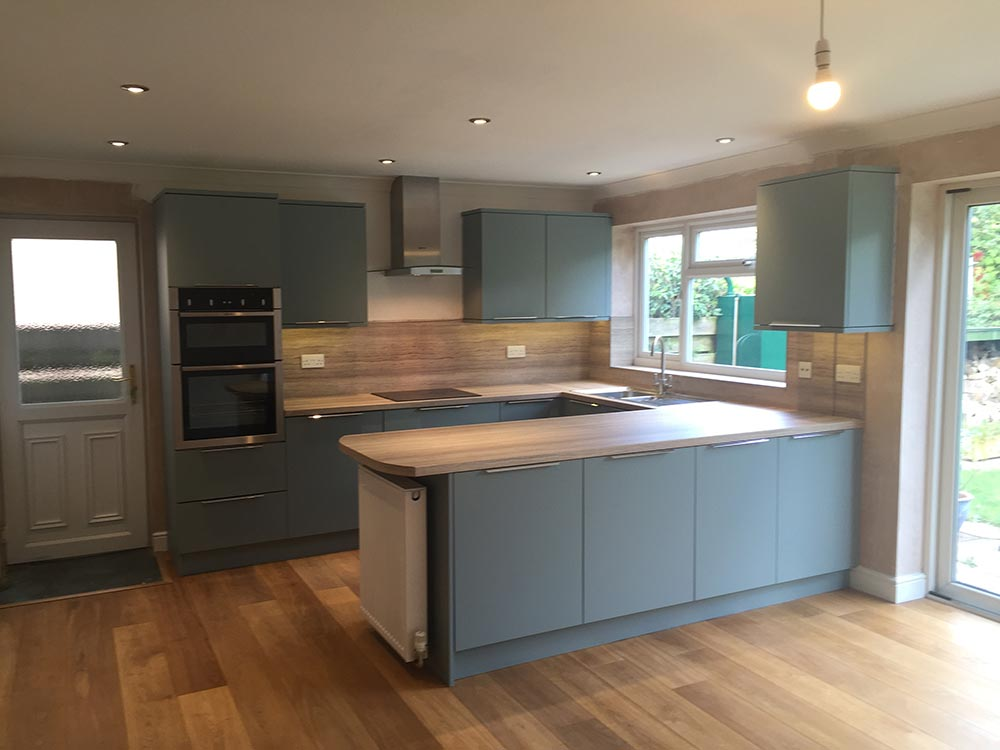 Chedburgh Kitchen Install
