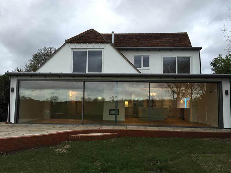 Extension and renovation, Long Melford, Suffolk